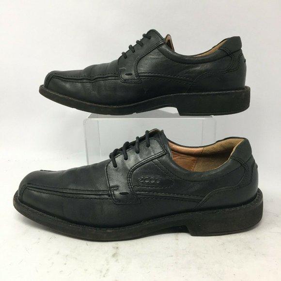 Ecco Helsinki Oxfords Dress Shoes Mens 43 Black Le